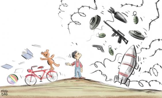 Cartoon-Migdad