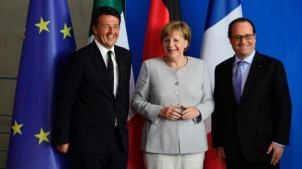 سه نفر اروپا